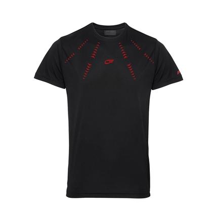 Immagine di T-shirt Nera Arrows Red