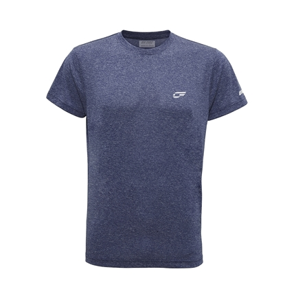 Immagine di T-shirt Blue Melange Basic